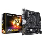 B450M DS3H Basic Home PC Motherboard
