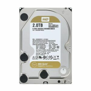 2TB WD RE Gold 128/7200 3.5in