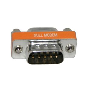 DB9 NULL MODEM ADAPTER Male/Female