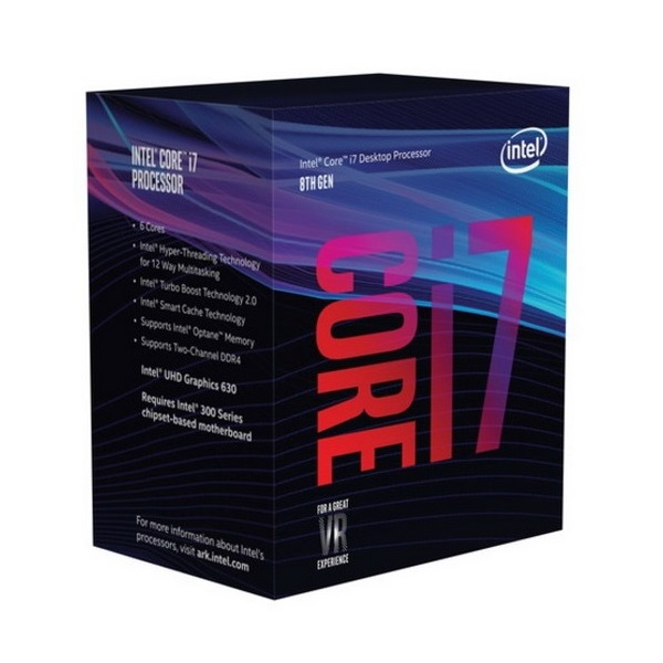Intel i7-8700K 6C 3.7GHz CPU