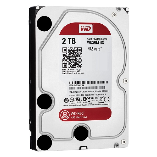 2TB Sata 3 WD RED IntelliPower Hard Drive