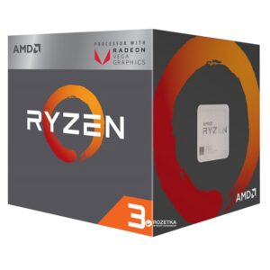 AMD Ryzen 3 2200G QC 3.5GHz CPU
