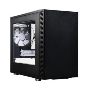 Fractal Define Nano S Windows ITX Case Black-No power supply
